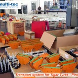Transport system MULTITEC for Tigar Tyres 7