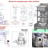 Machine for packaging sugar - Behn and Bates-VV