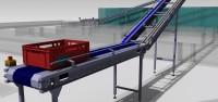 Conveyor system with modular belts for Big Bull Foods, Bacinci, Serbia