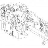 Modul za izradu i umetanje ručki pri izradi papirnih kesa (MOZR) 1