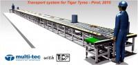 Multitec je isporučio TRANSPORTNI SISTEM u kompaniji Tigar Tyres u Pirotu, Srbija
